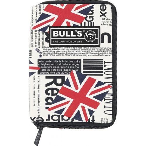 Bull's dartetui TP  Großbritannien rot/blau 18 x 12 x 5 cm
