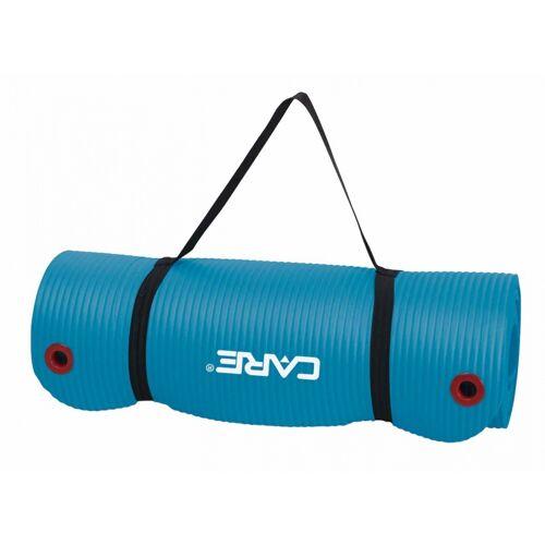 Care Fitness Übungsmatte 183 x 61 cm 1,5 cm blau