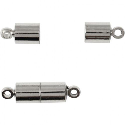 Creotime magnetverschluss und Ösen 17 mm 10 Stk