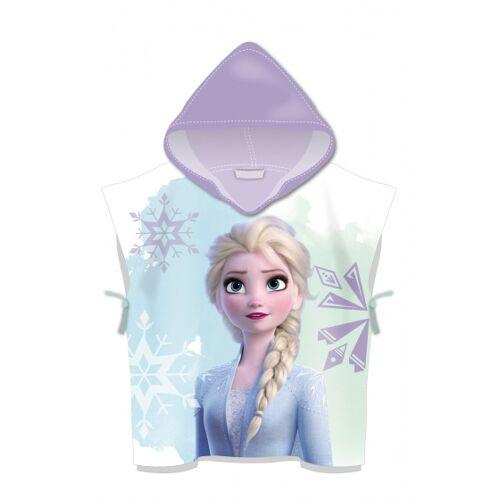 Disney Gefrorenes Handtuch Poncho violett 60 cm
