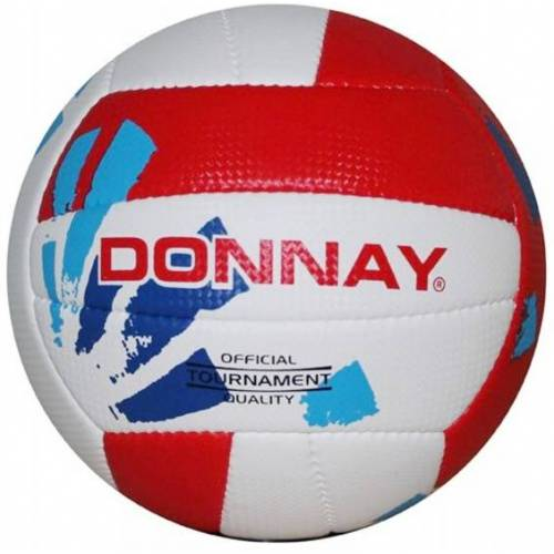 Donnay beachvolleyball weiß/rot Größe 5