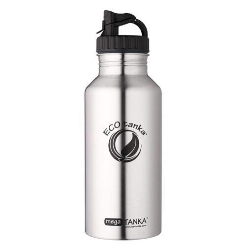 ECOtanka trinkflasche Mega Tanka2 liter edelstahl chrom/schwarz