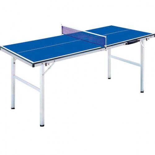 Fox TT tischtennistisch mini 150 cm Holz/Stahl blau 6 teilig