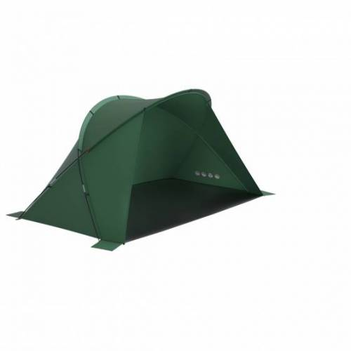 Husky strand Zelt Blum 240 x 115 x 105 cm Polyester grün