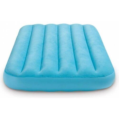 Intex kinder Luftmatratze Cozy blau 157 x 88 x 18 cm