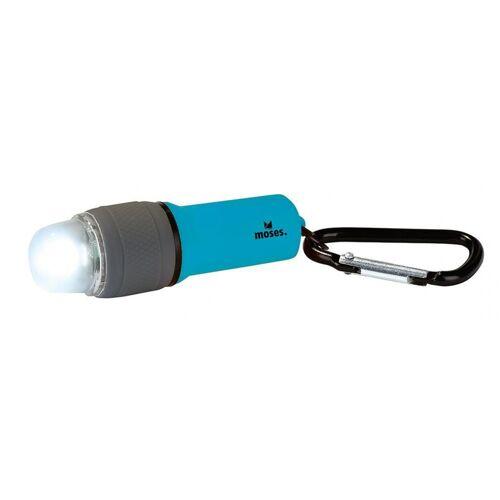 Moses taschenlampe led batterie 7,2 x 2,3 cm blau
