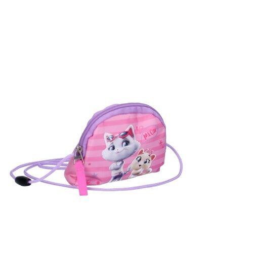 Nickelodeon brieftasche 44 Cats Rock 13 x 10,5 cm rosa