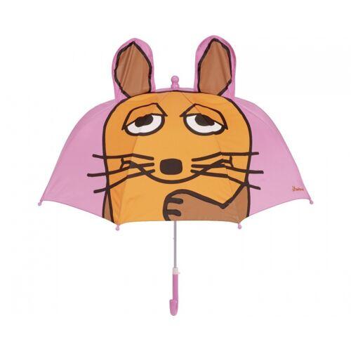 Playshoes regenschirm mit Kopfhörer rosa 70 cm