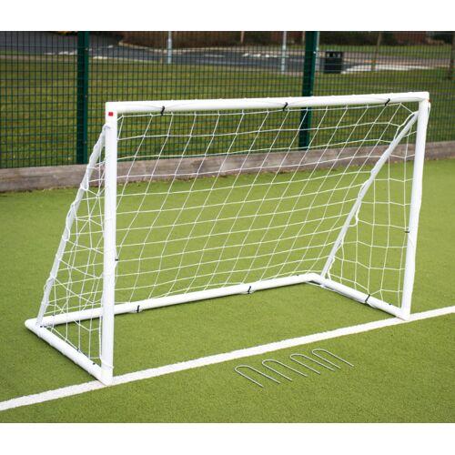 Precision fußballtor Garten Junioren 182 x 122 cm weiß