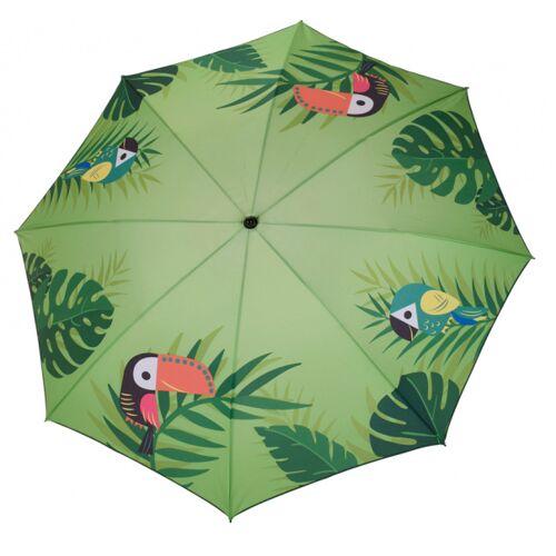 Pro Beach Sonnenschirm Tierdruck grün 152 x 142 x 200 cm 1 Stück