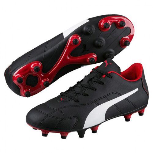 Puma fußballschuhe Classico FG Leder schwarz/weiß/rot Größe 28