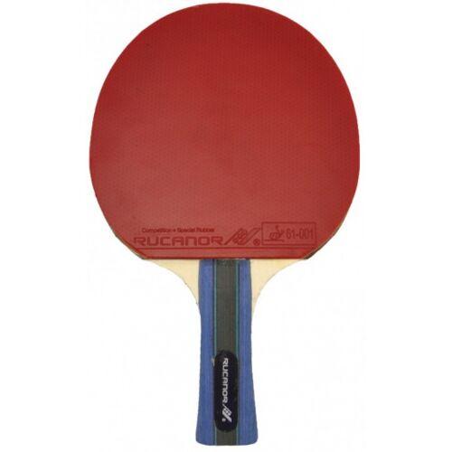 Rucanor Tischtennisschläger Shinto Super   rot / schwarz