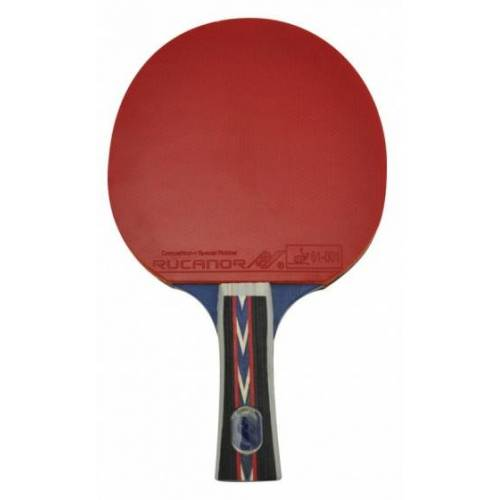 Rucanor Tischtennisschläger TTB 160 rot / schwarz