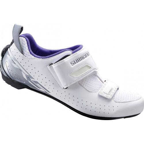 Shimano radsportschuhe TR5Triathlon Damen weiß/blau Größe 44