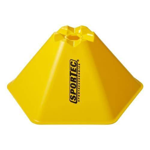 Sportec abgrenzungszwiebeln hexagonal groß 10 Stück gelb