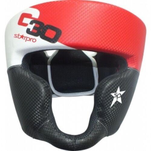 Starpro Boxen Kopfschutz Standaard   rot Größe XS