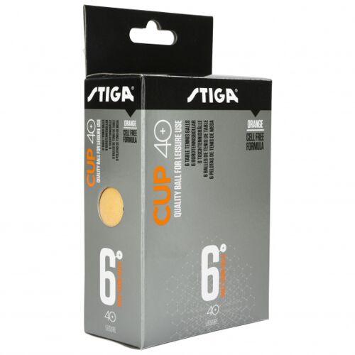 Stiga tischtennisbälle Cup 40 orange 6 Stück