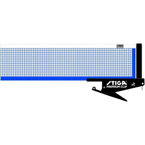 Stiga tischtennisnetz Premium Clip Ittf schwarz