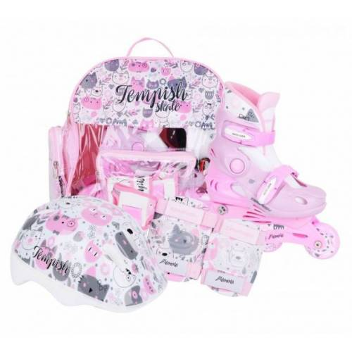 Tempish schlittschuh Set für Babys, rosa/weiß Größe:30 33