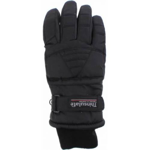 Thinsulate skihandschuhe Damen Polyester schwarz Größe L