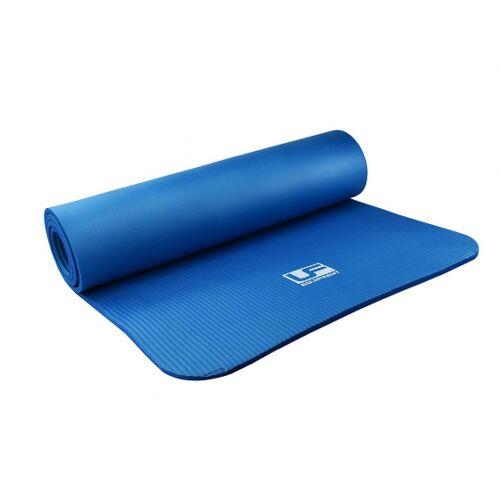 Urban Fitness fitnessmatte 183 x 61 x 1 cm Gummi blau