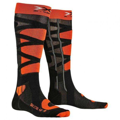 X-Socks X Socks skisocken Kontrolle Polyamid schwarz/orange