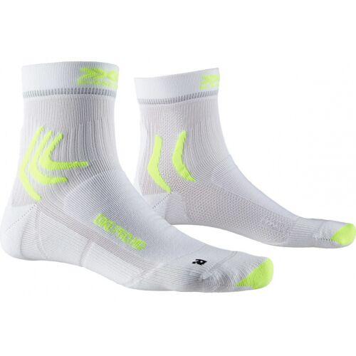 X-Socks X Socks socken Bike Pro MTB Polyamid weiß/gelb Größe 45 47