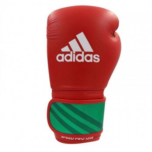 Adidas Speed Pro Boxhandschuhe rot/grün Größe 14 oz