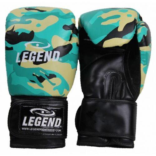 Legend Sports boxhandschuhe mintgrün/camo PowerFit