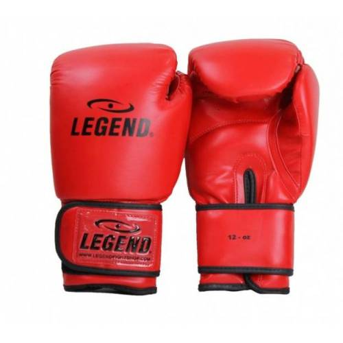 Legend Sports Powerfit & Protectboxhandschuhe rot