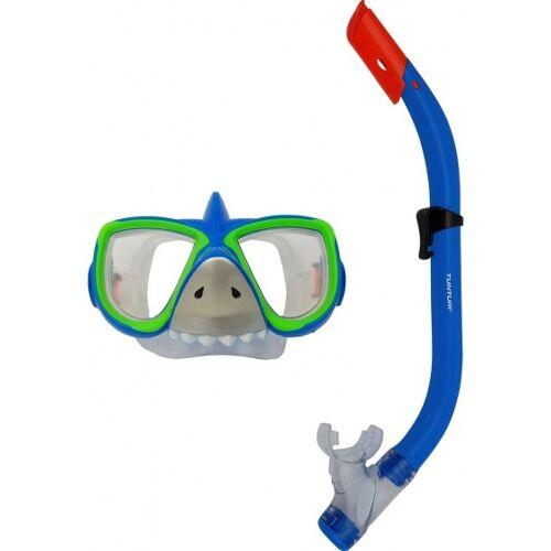 Tunturi schnorchelset SharkJungen blau / grün