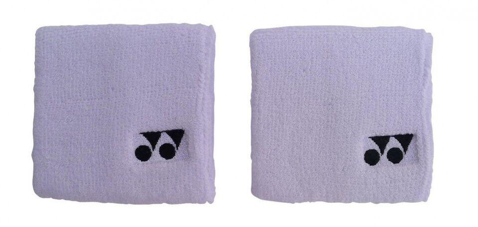 Yonex armband 2 Stück 8x8 cm weiß