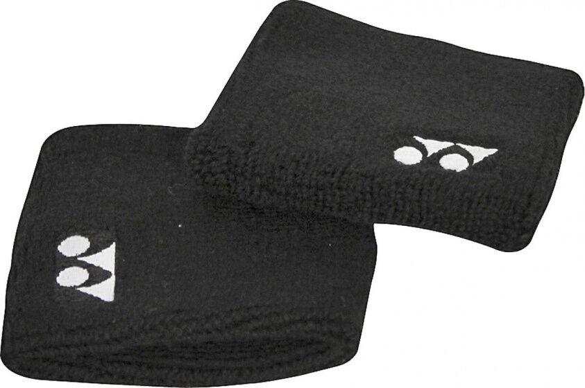 Yonex armband 2 Stück 8x8 cm schwarz