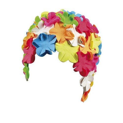 Beco badekappe Damen Gummi mehrfarbig Blumen