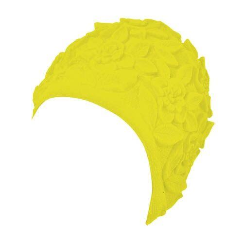 Beco badekappe Ornament Damen gelb Einheitsgröße