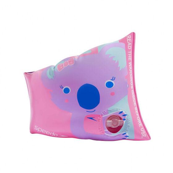 Speedo schwimmflügel Koko Koala Mädchen PVC rosa 2 teilig