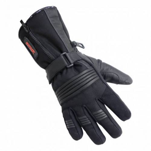 MotorX motorradhandschuhe Winter Leder schwarz Größe M