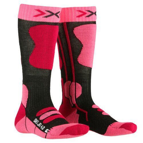 X-Socks X Socks skisocken Mädchen Polyamid anthrazit/rosa