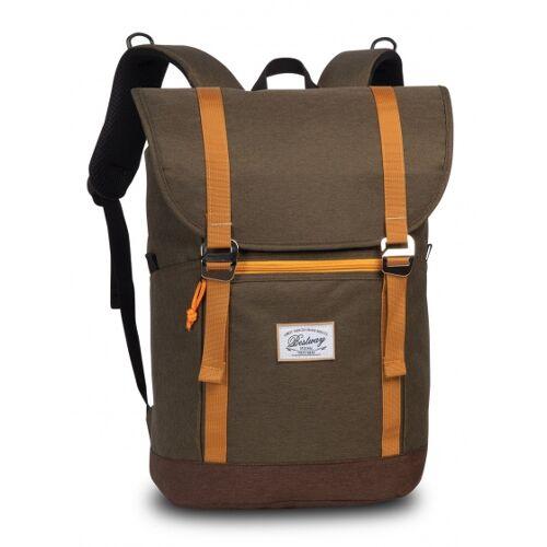 Bestway rucksack 21 Liter Armee grün/gelb
