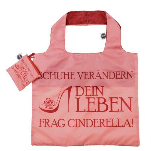 Any Bags klappbare Shopperpumpe 48 cm rosa