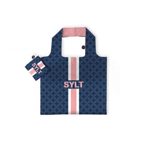 Any Bags faltbarer Shopper Sylt 48 cm blau