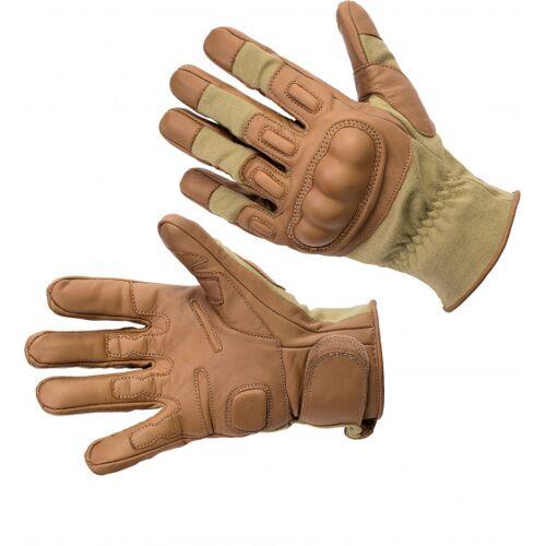 Defcon 5 airsof handschuhe nomex/kevlar hellbraun größe s