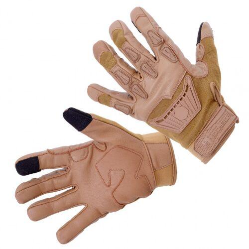 Defcon 5 airsof Handschuhe Thermoplast hellbraun Größe L