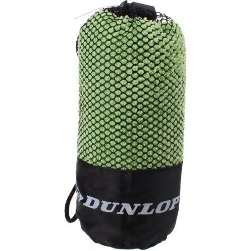 Dunlop Sport Handtuch grün in Netzbeutel 80 x 40 cm