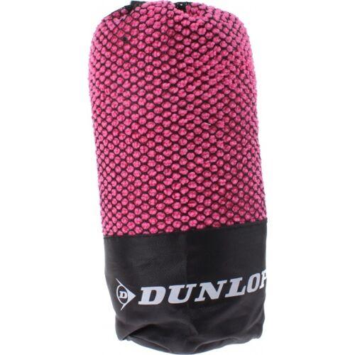 Dunlop Sport rosa Handtuch in Masche 80 x 40 cm