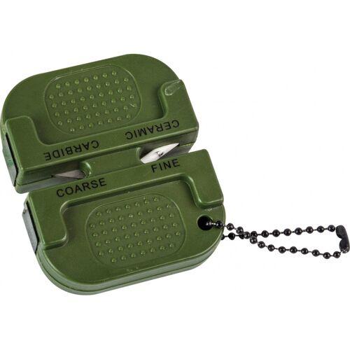 Highlander messerschärfer 7 x 6 cm Gummi/Karbid grün