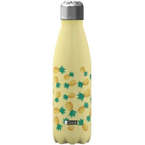 I-Drink I Drink trinkflasche Ananas 650 ml Edelstahl gelb
