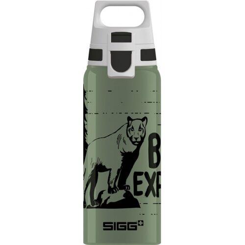 Sigg trinkflasche Brave Mountain Lion 500 ml Aluminiumgrün