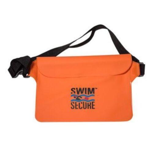 Swim Secure wasserdichte Gürteltasche 22 x 15 cm TPU orange