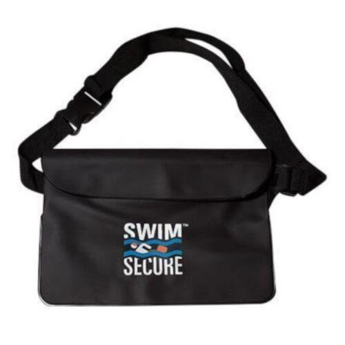 Swim Secure wasserdichte Gürteltasche 22 x 15 cm TPU schwarz